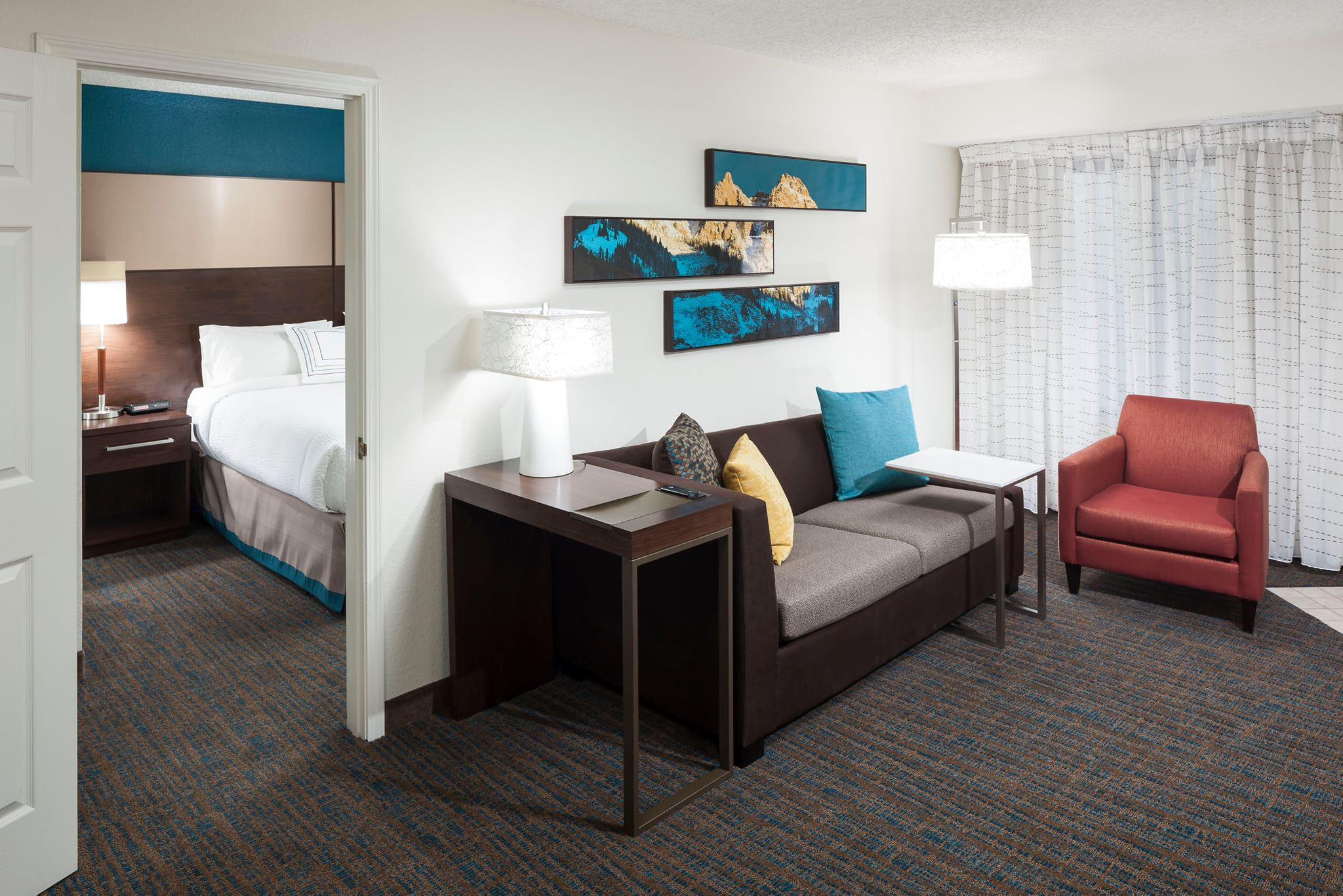 image of suite at residence inn