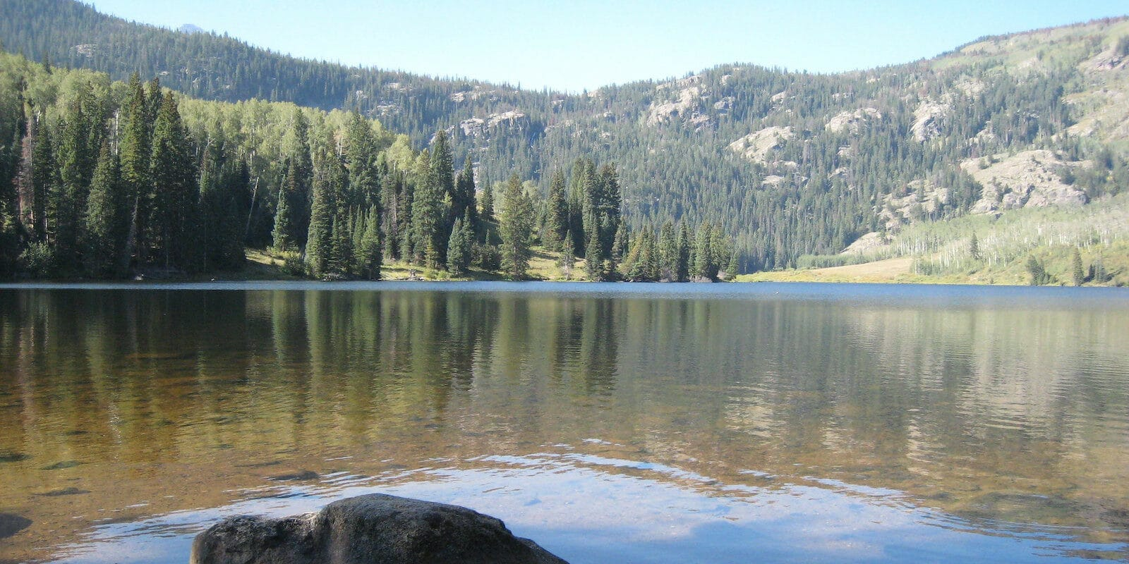 Image of the Upper Cataract Lake in Heeney, Colorado
