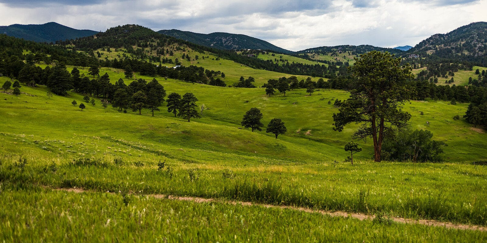 Image of scenic views at White Ranch Park in Golden, Colorado