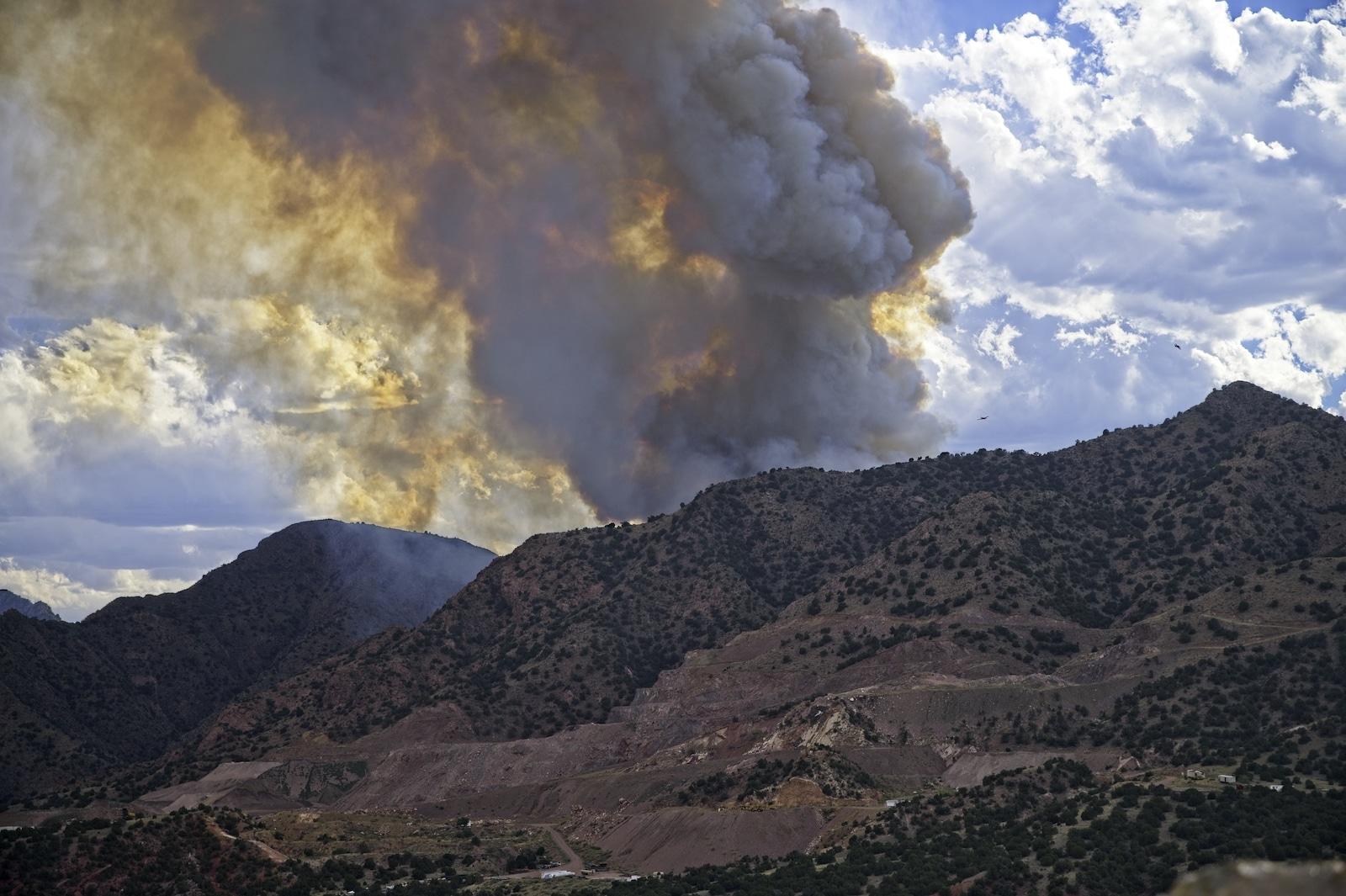 YMCA Mountain Fire 2020 Colorado