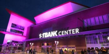 Image of the outside of 1STBANK Center in Broomfield, Colorado