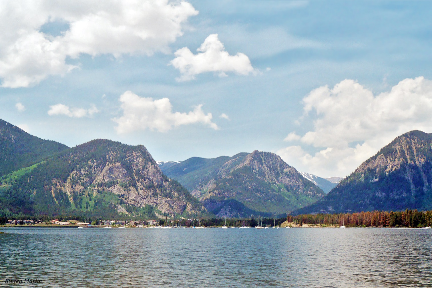 Teluk Firsco, Danau Dillon, Colorado