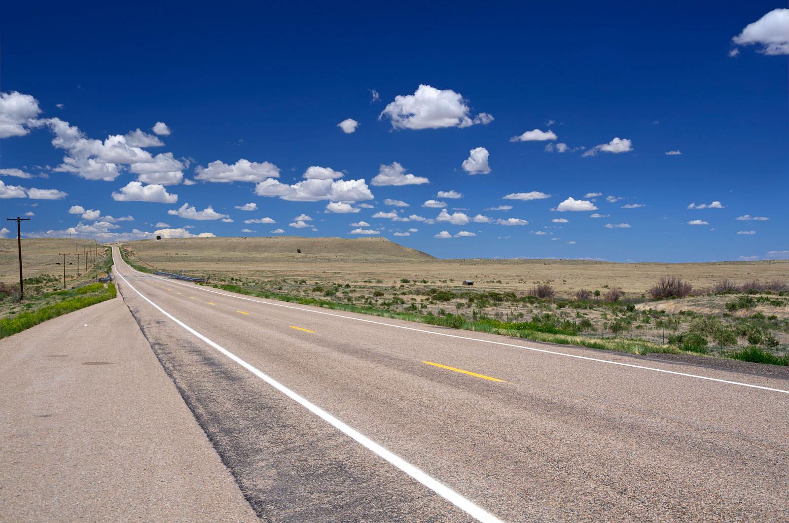 Highway 160 East of Trinidad, Colorado
