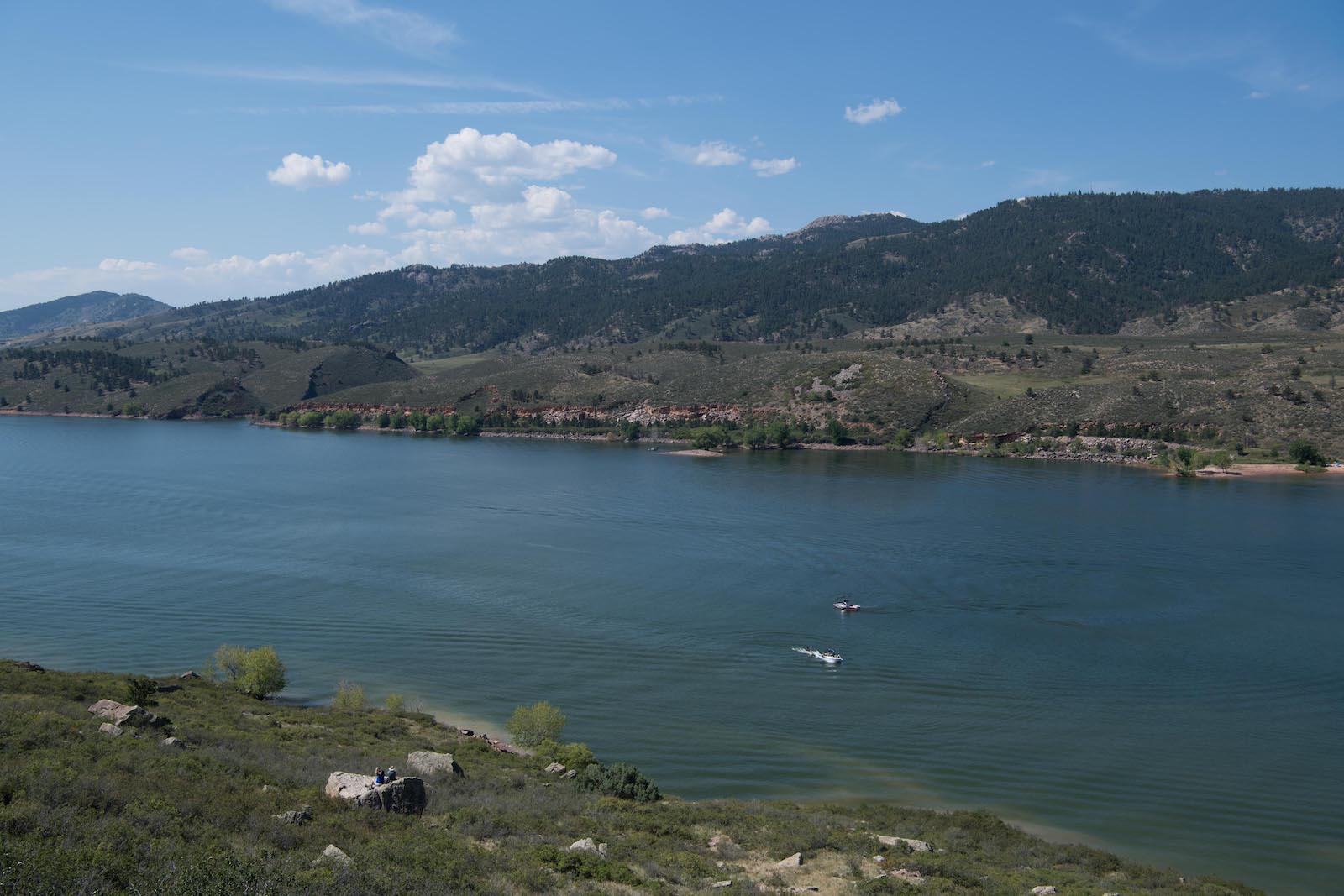Horsetooth Reservoir, CO