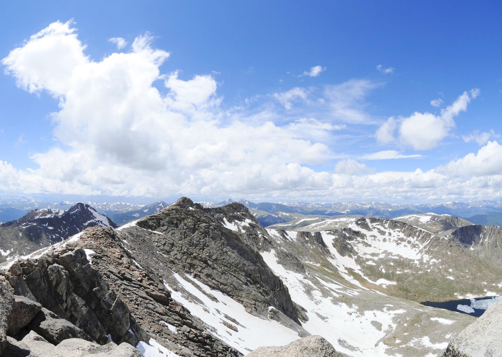gunung  Evans Summit, Colorado