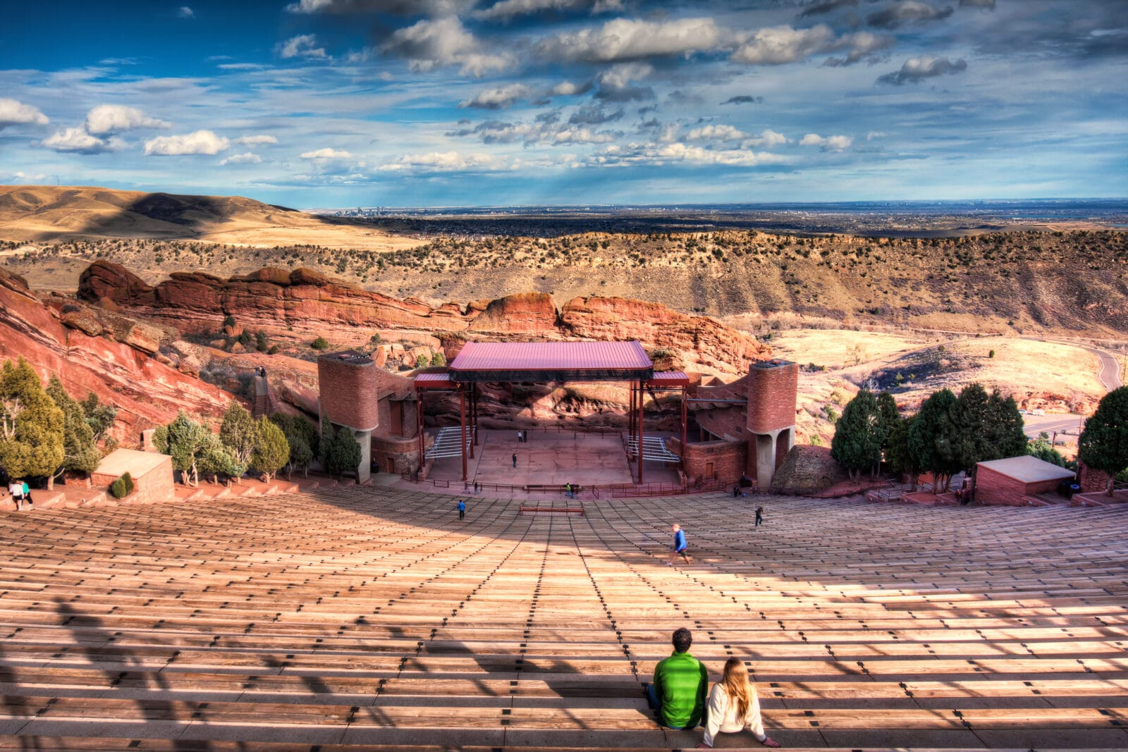 Amfiteater Batu Merah, CO