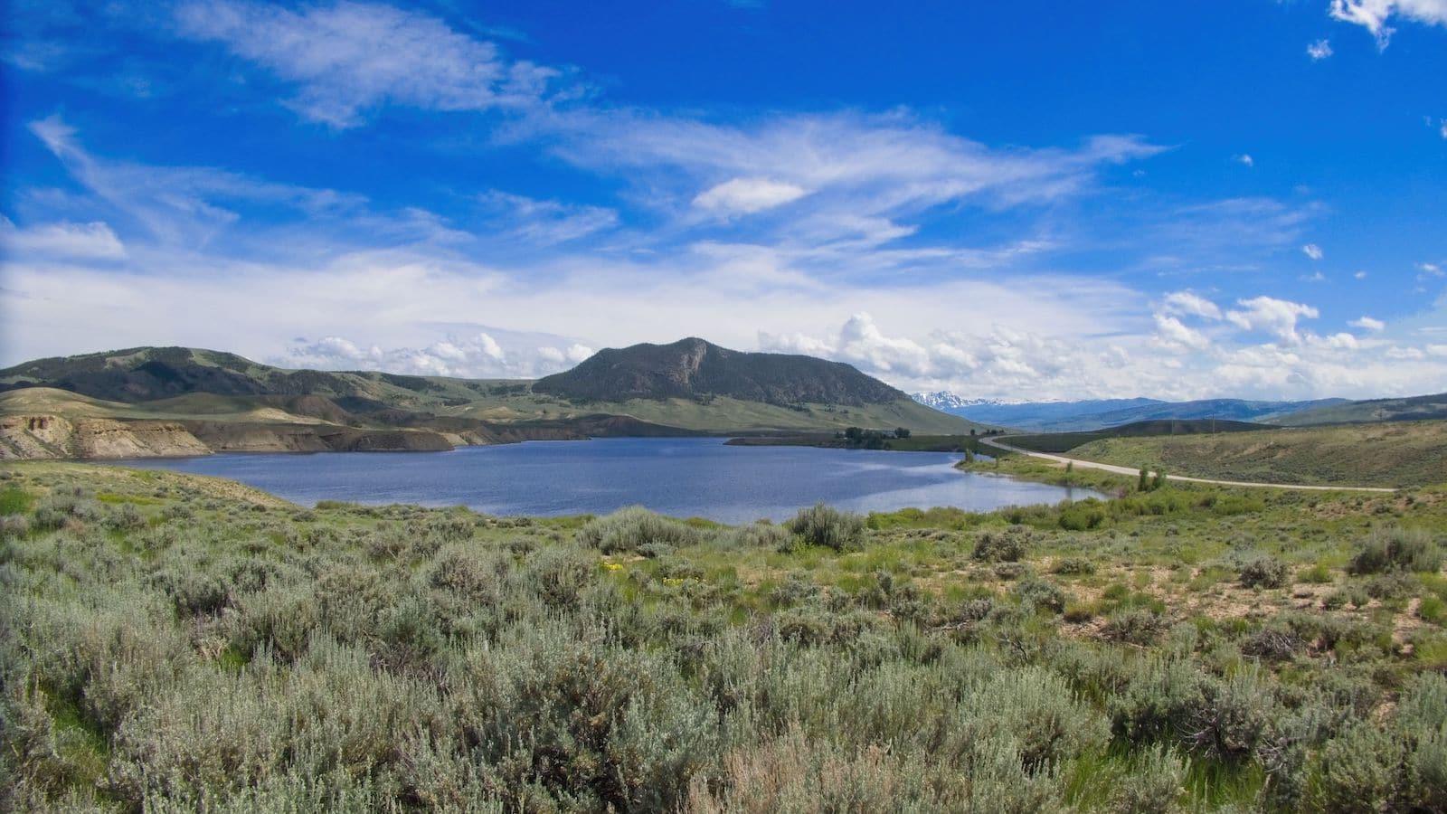 Waduk Gunung Wolford - Kremmling, CO