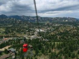 Image of the Estes Park Aerial Tramway in Colorado
