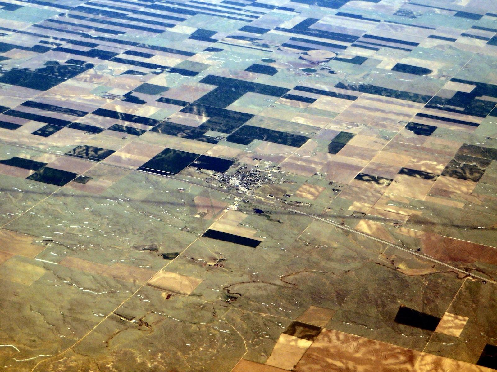 Flagler Colorado Aerial Vierw