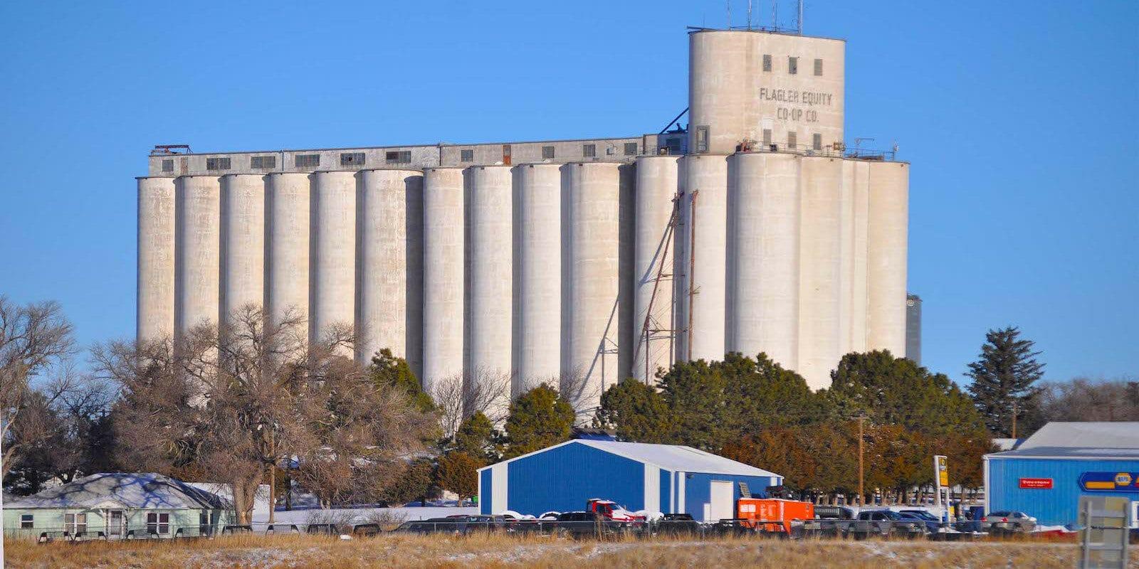Flagler, Colorado Grain Elevators