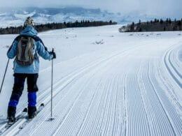 Latigo Ranch Nordic Center Cross Country Skier