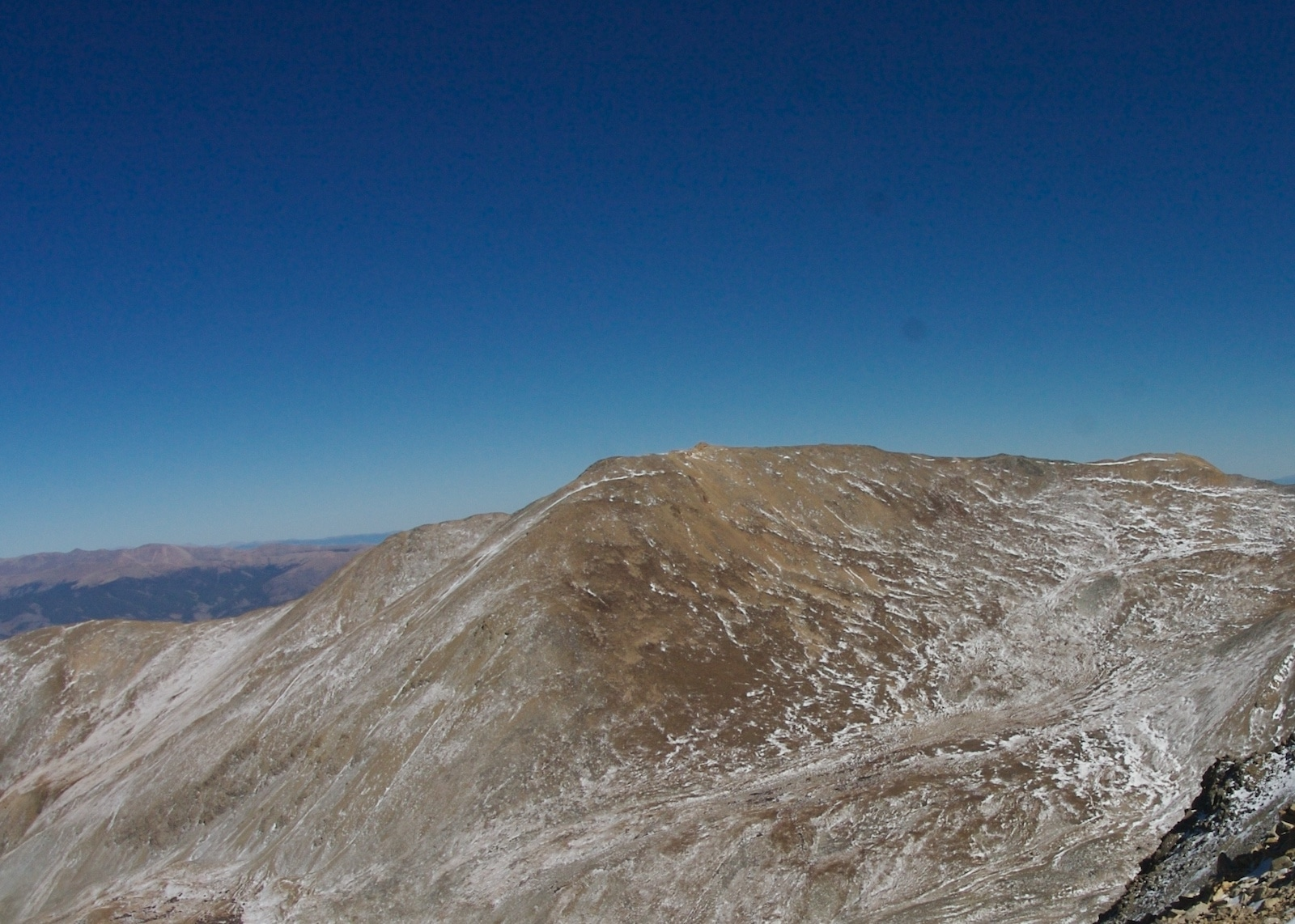 Mount Belford summit from Missouri