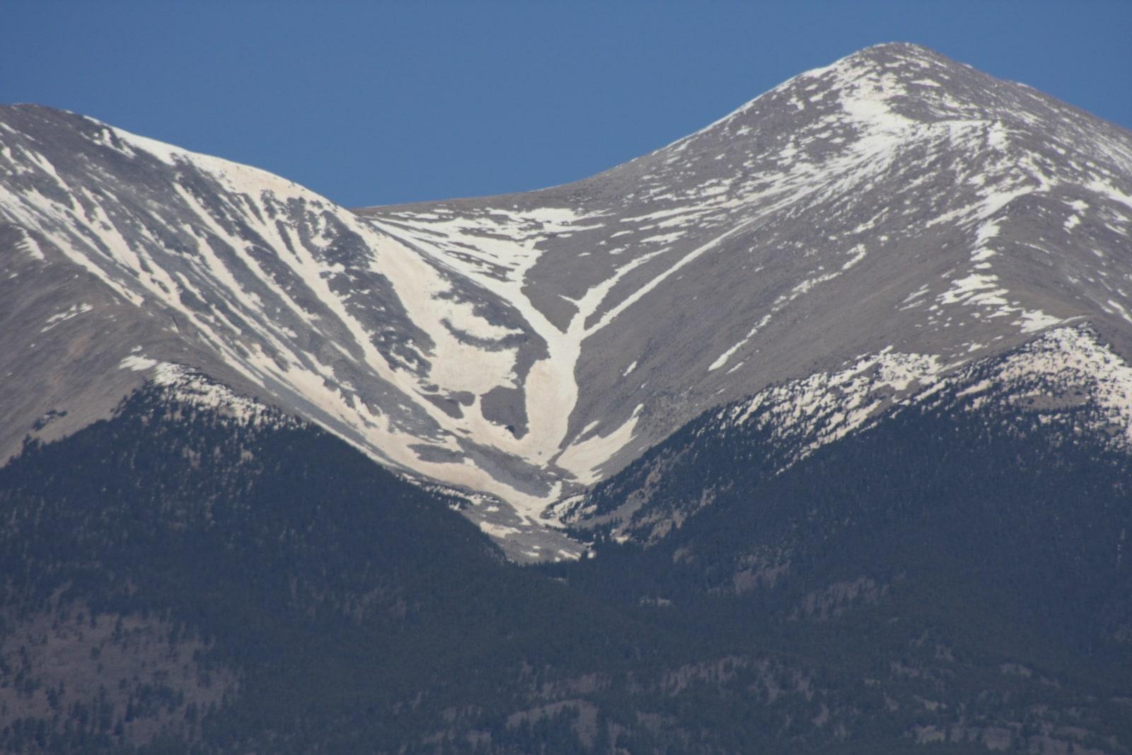 Mount Shavano Angel and Grinch