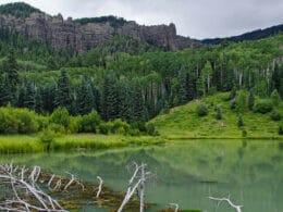 Image of Opal Lake in Pagosa Springs, Colorado