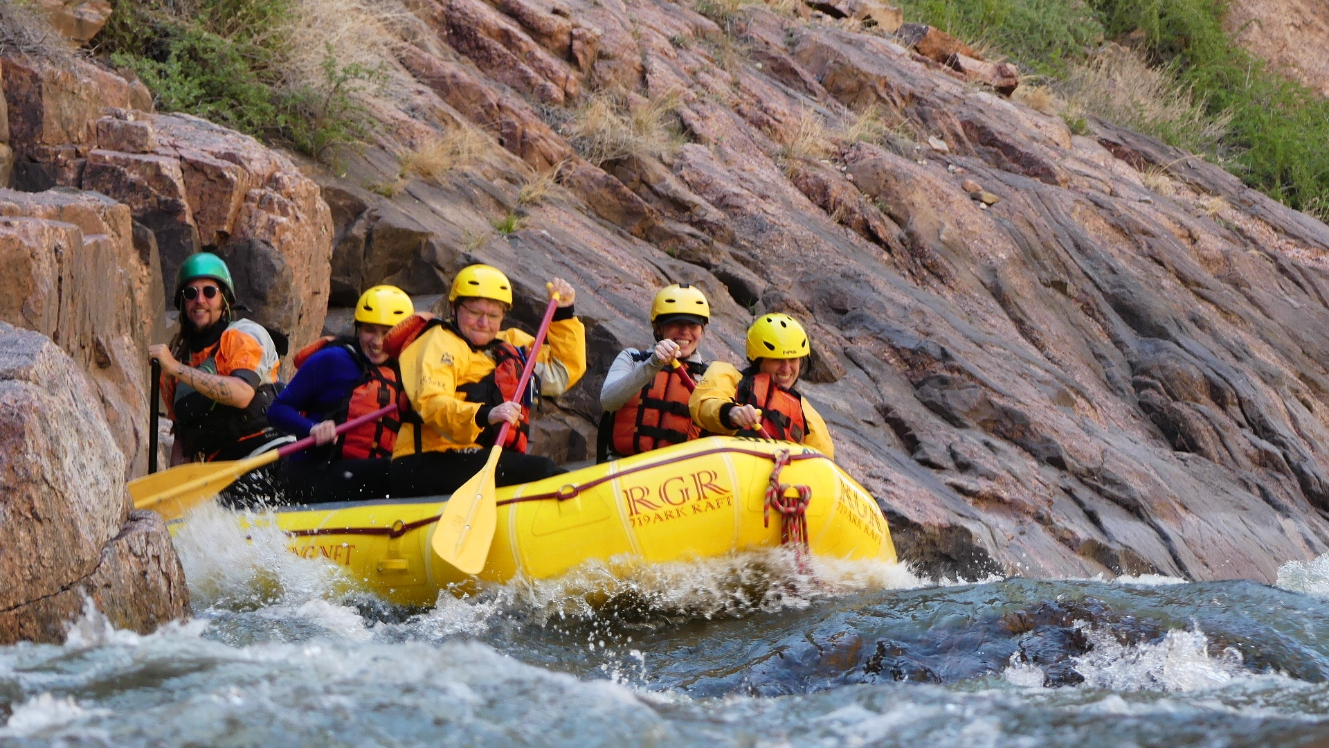 image of rafting the royal gorge
