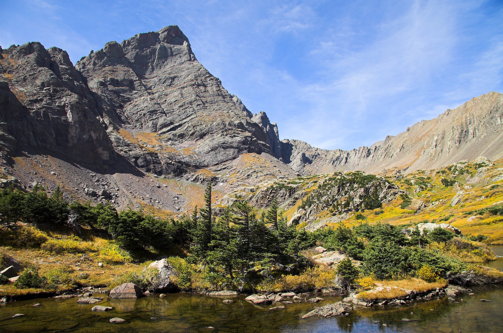 Image of the South Colony Lakes and Crestone Needle
