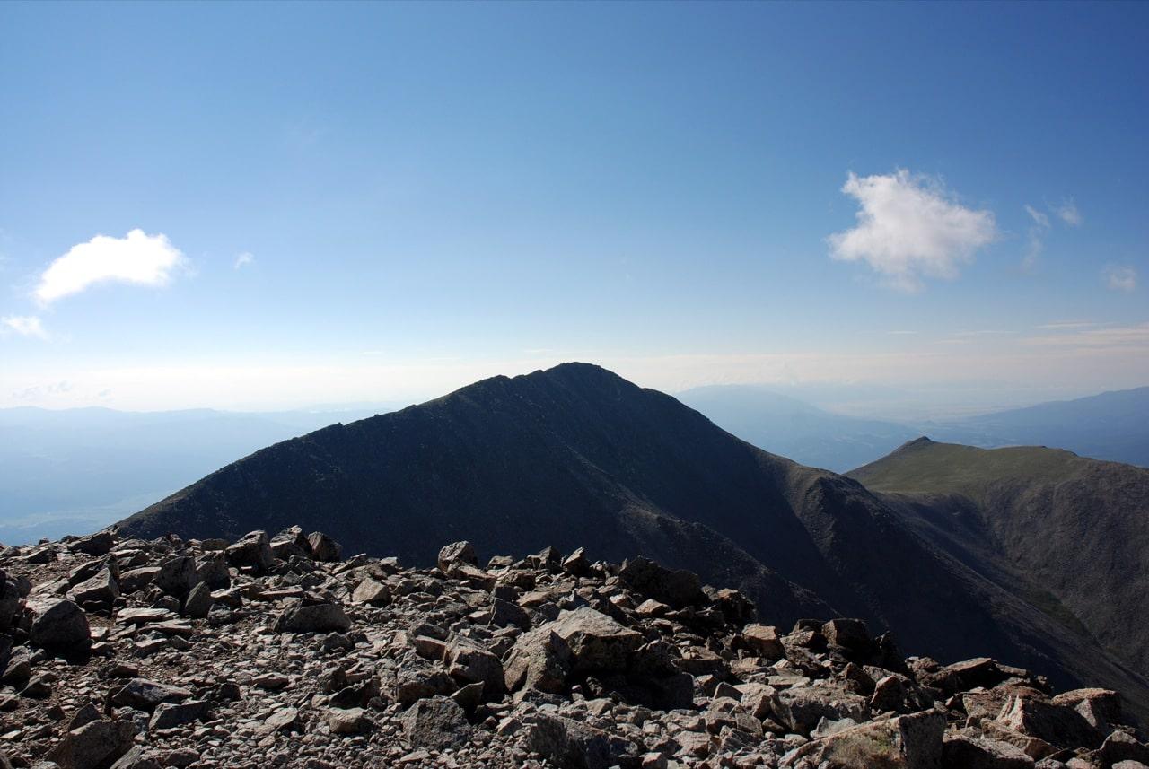 Mt Shavano Peak from Tabeguache Peak Summit