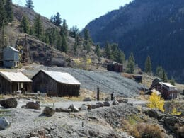 Image of the Ute-Ulay Mine and Mill in Henson, Colorado