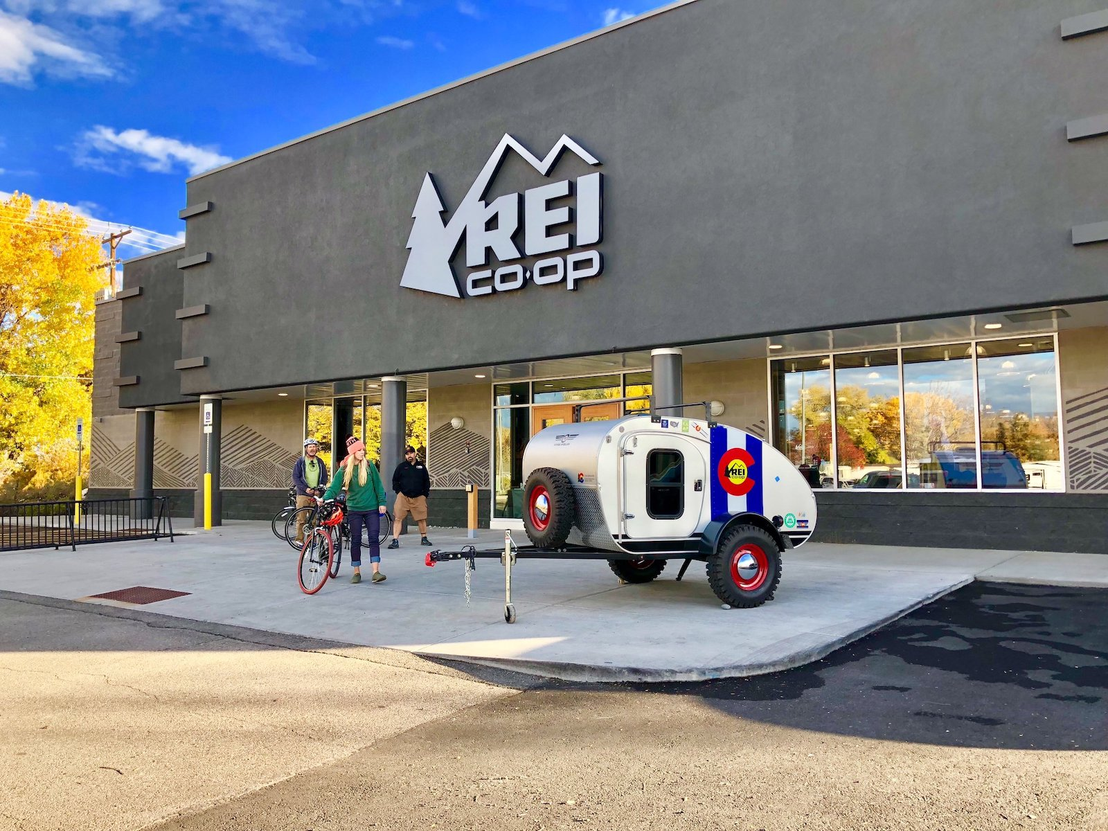 Image of a Vintage Overland at an REI Co-op