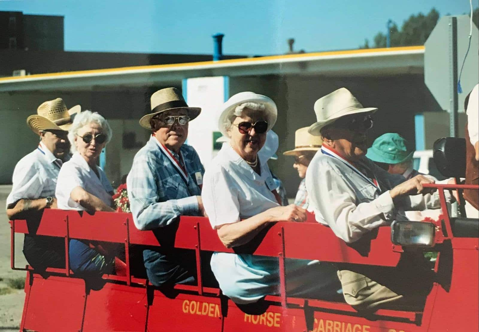 Image of the 1990 Welcome Week Parade in Littleton, Colorado