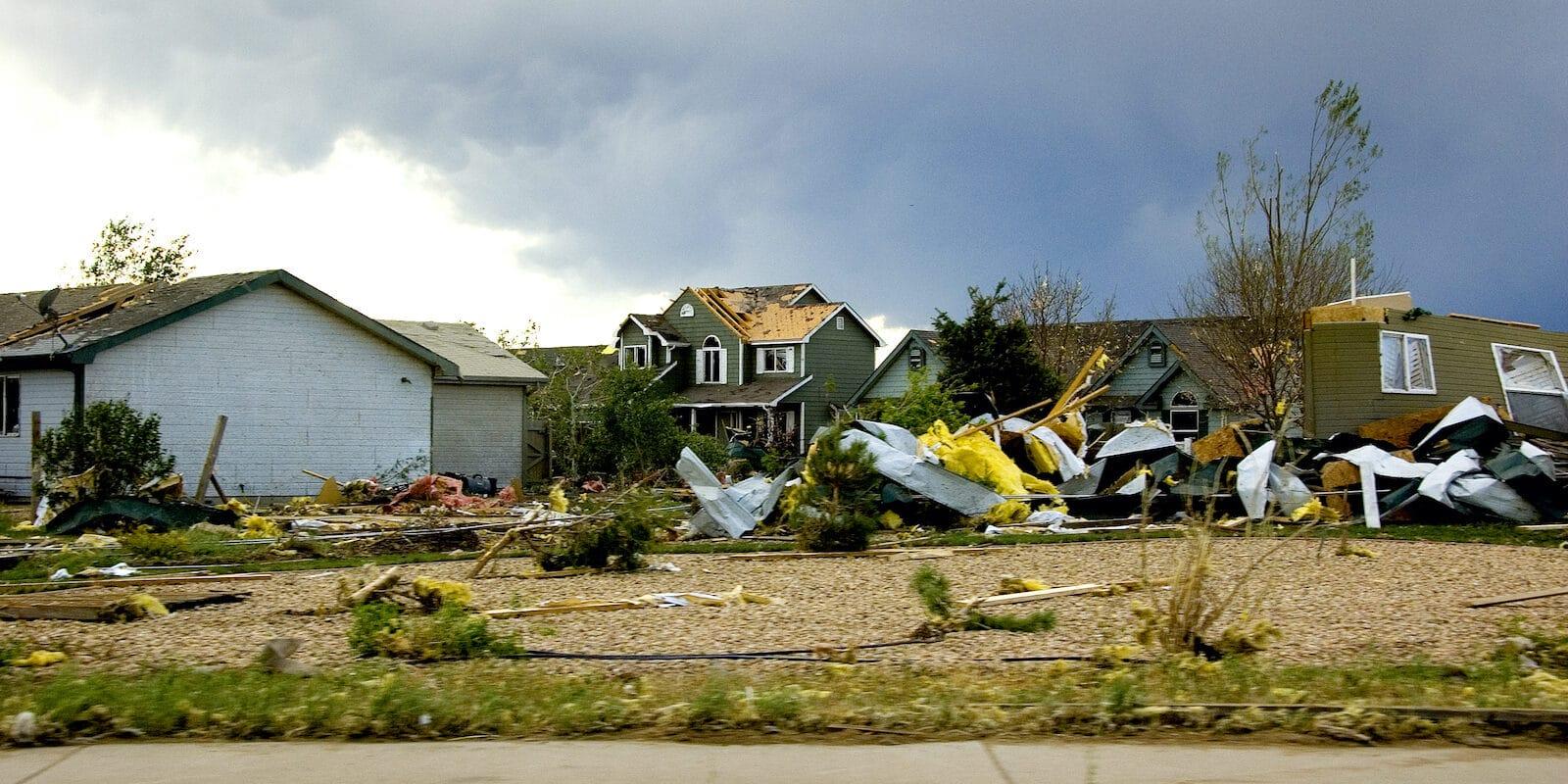 Windsor Colorado Tornado Damage 2008