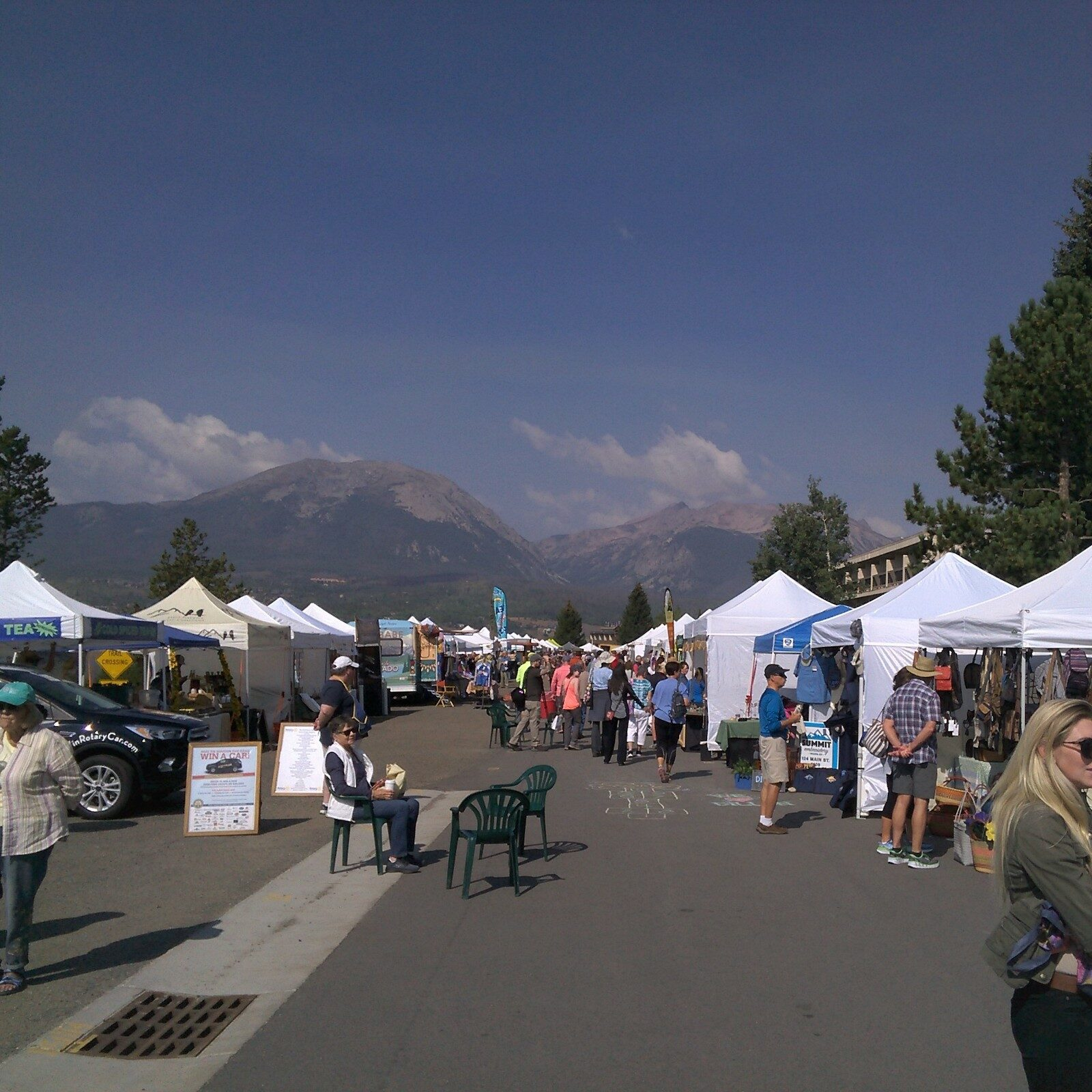 Dillon Farmers Market, CO