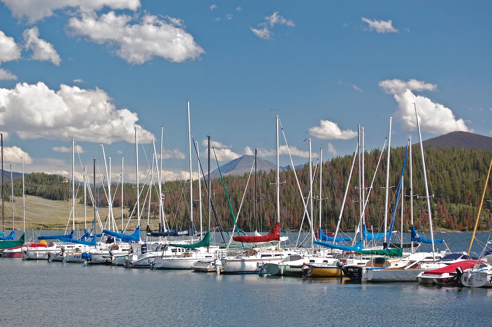 Dillon Marina, Dillon Reservoir, Colorado