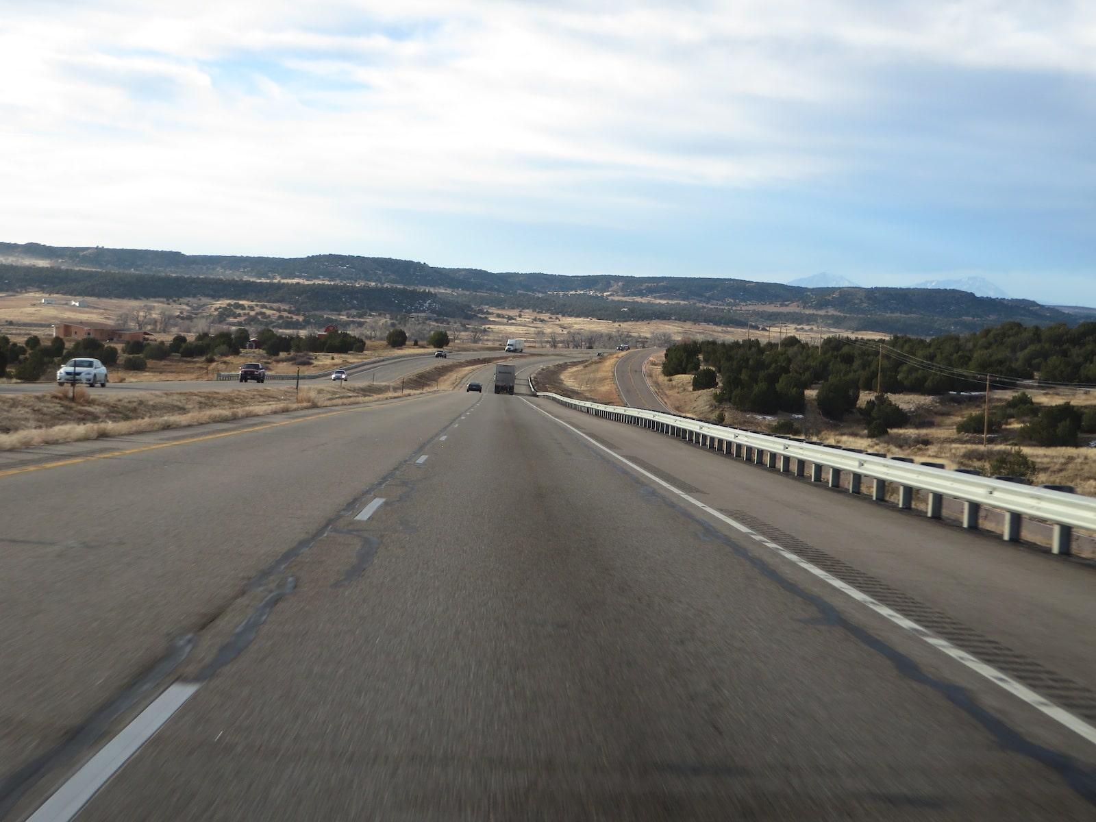 Interstate 25 Between Pueblo and Walsenburg, Colorado