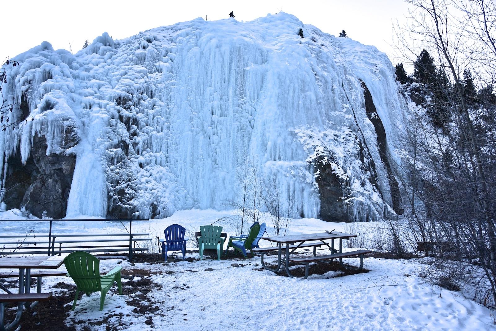 Lake City Ice Climbing Park, CO