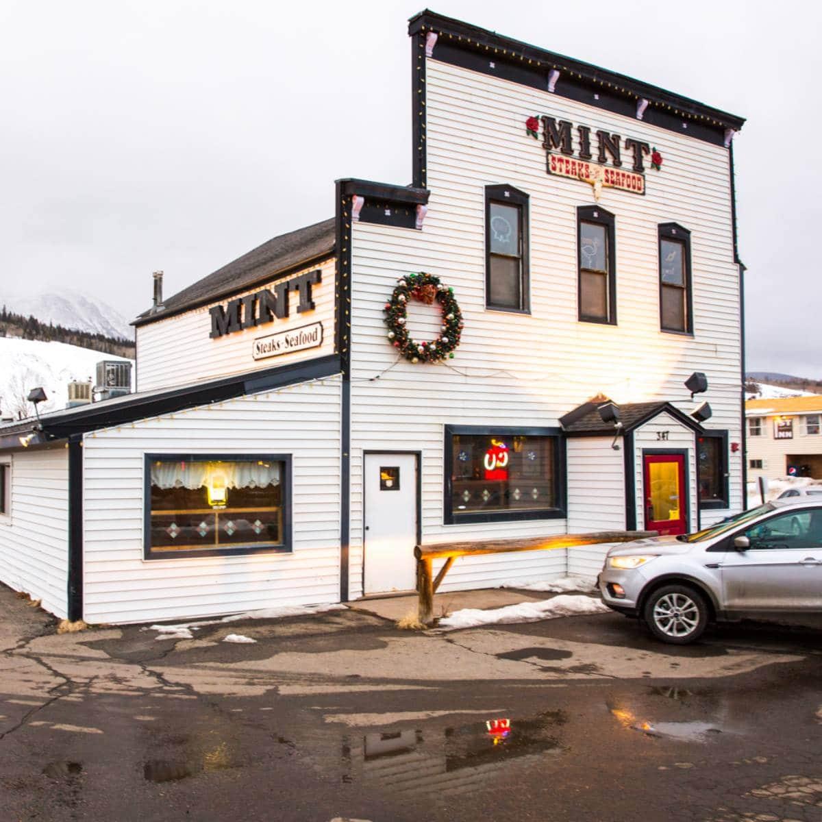 Mint Steakhouse restaurant, CO
