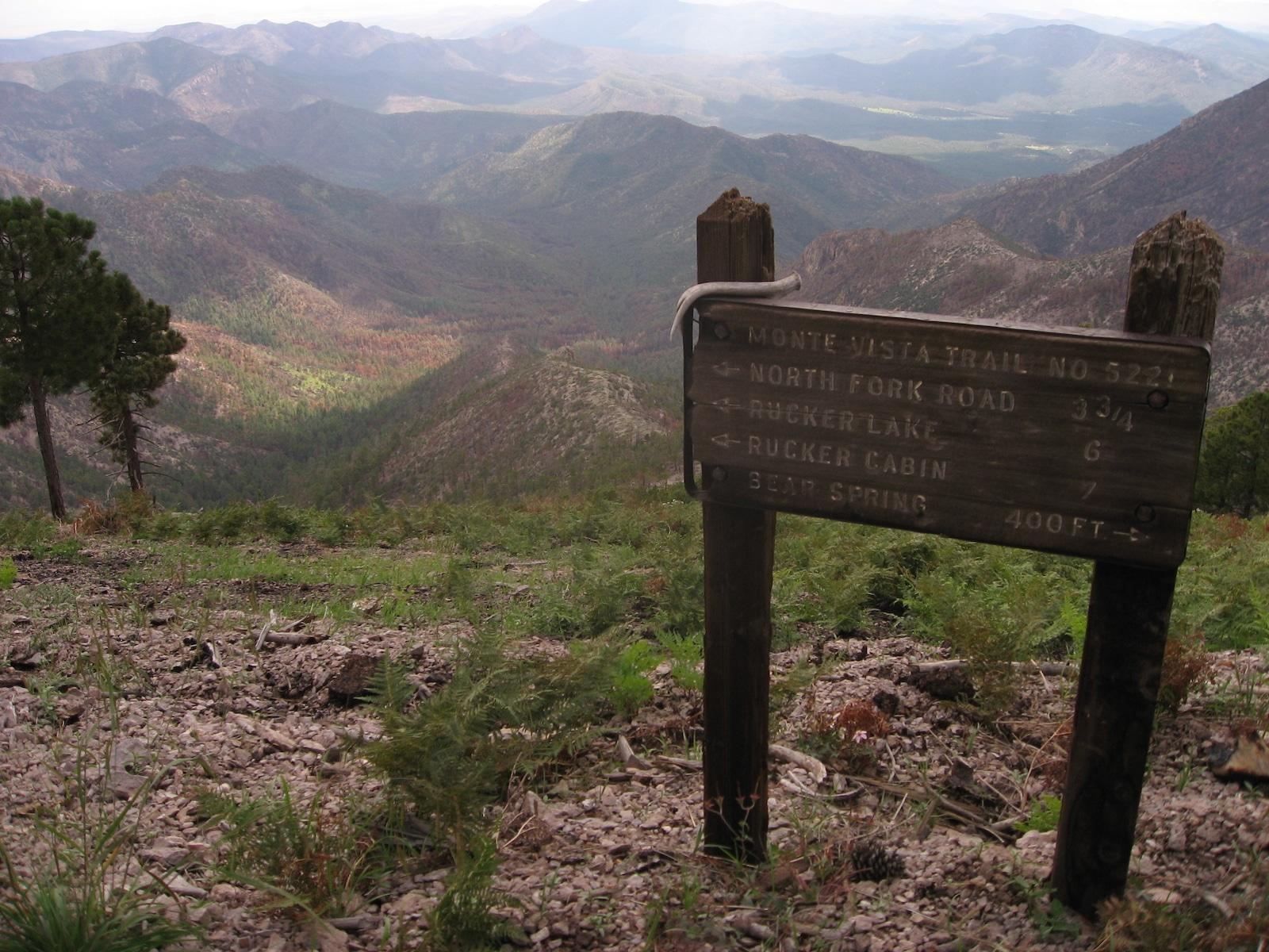 Tanda Jalur Monte Vista