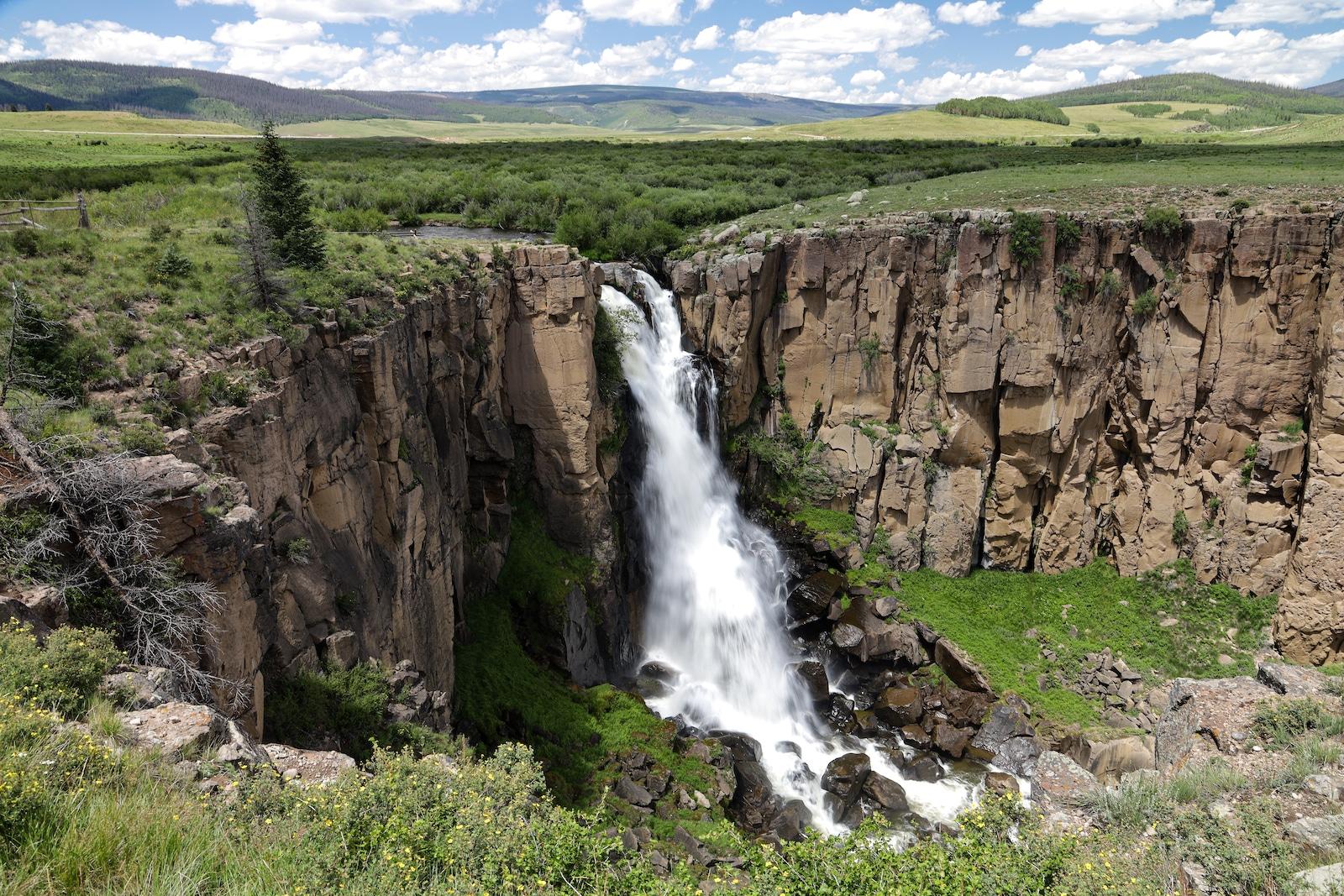 Air Terjun North Clear Creek, Colorado