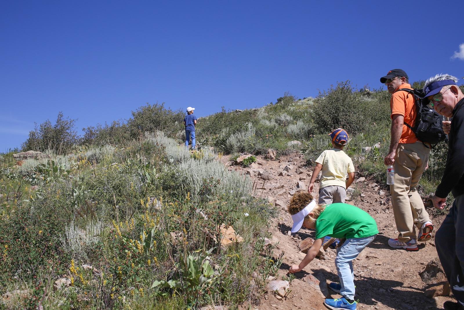 Silverthorne hiking, CO