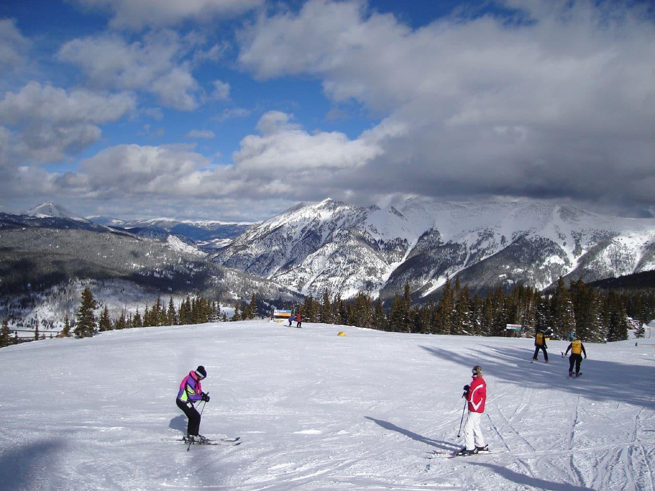 Ski Copper Mountain, CO