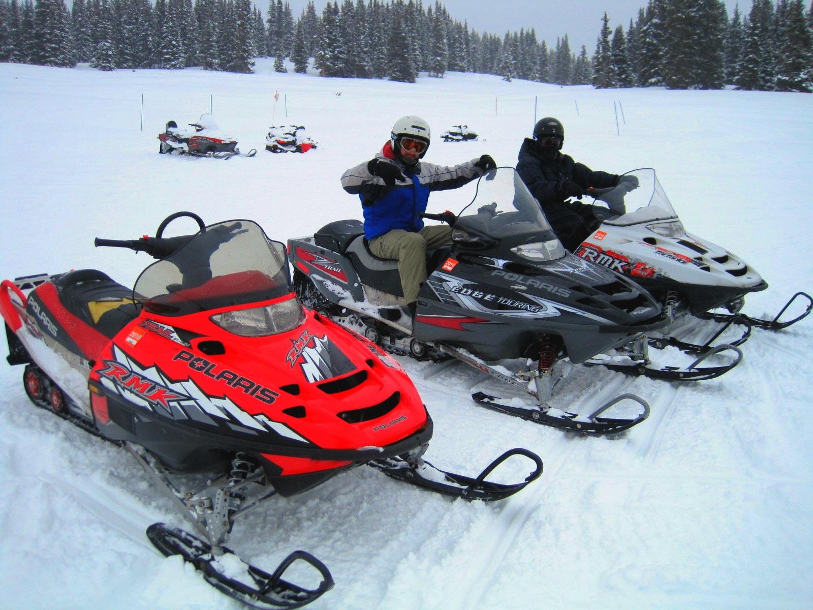 Dillon Snowmobiling, CO