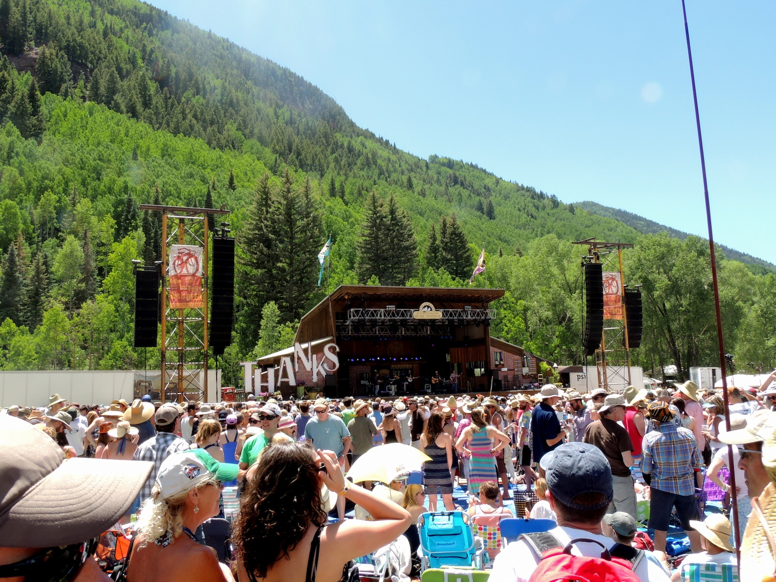 Telluride Bluegrass Festival, CO
