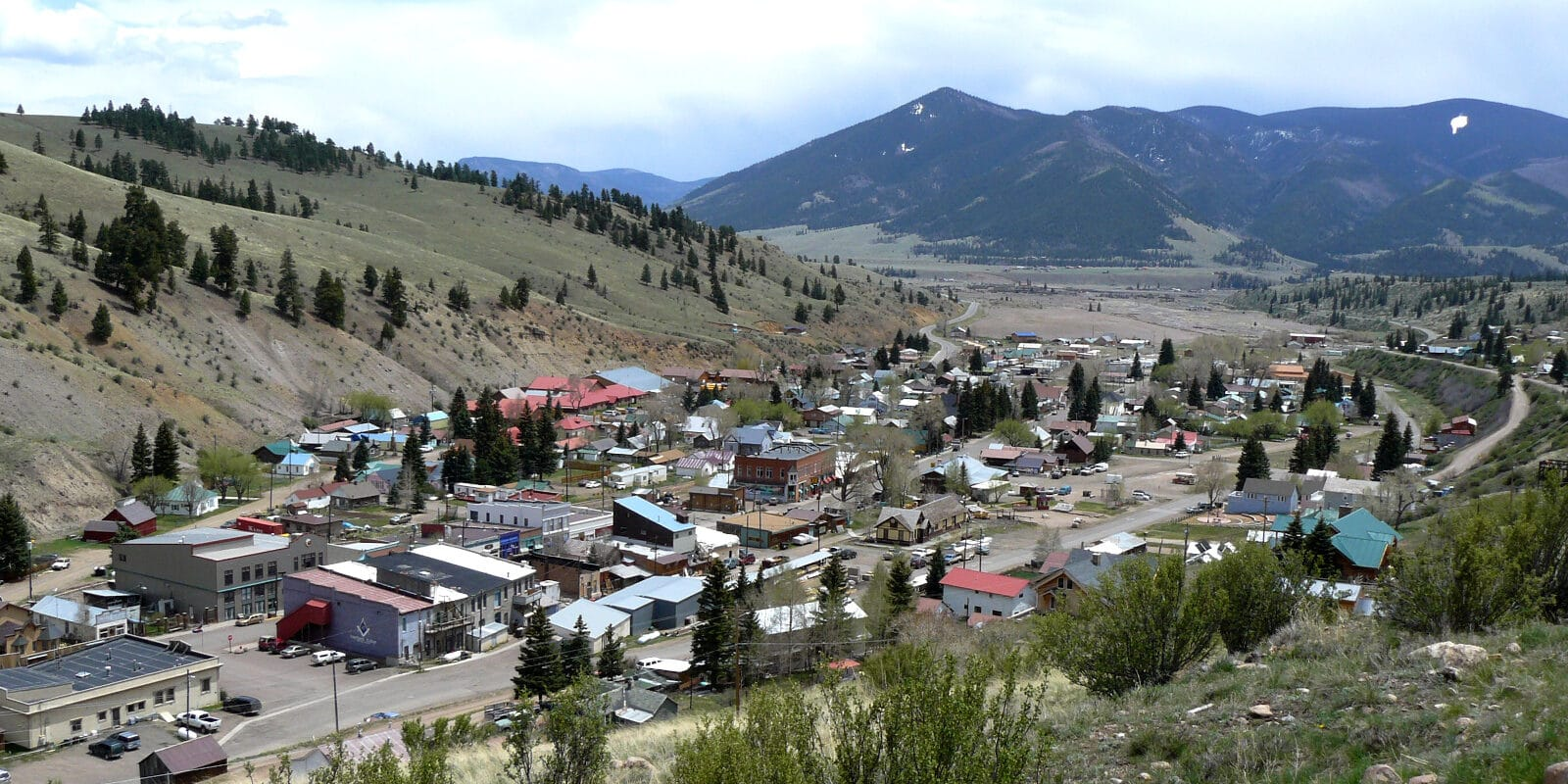 View of Creede, CO