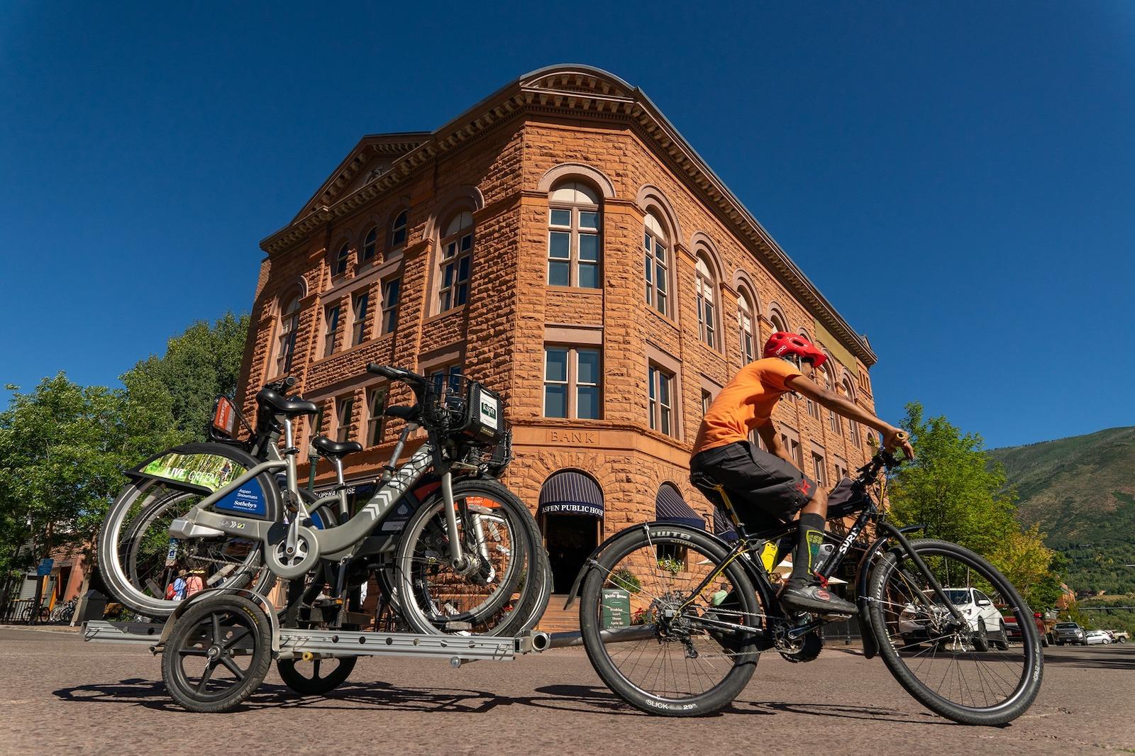 WE-cycle Aspen, CO