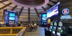 Ameristar Casino Barstool Sportsbook Black Hawk CO