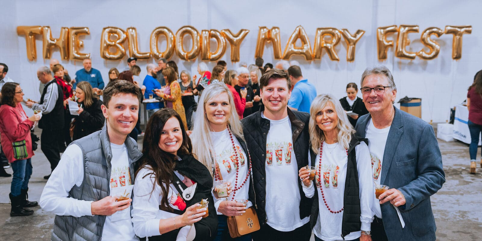 Image of people at the Bloody Mary Festival in Colorado