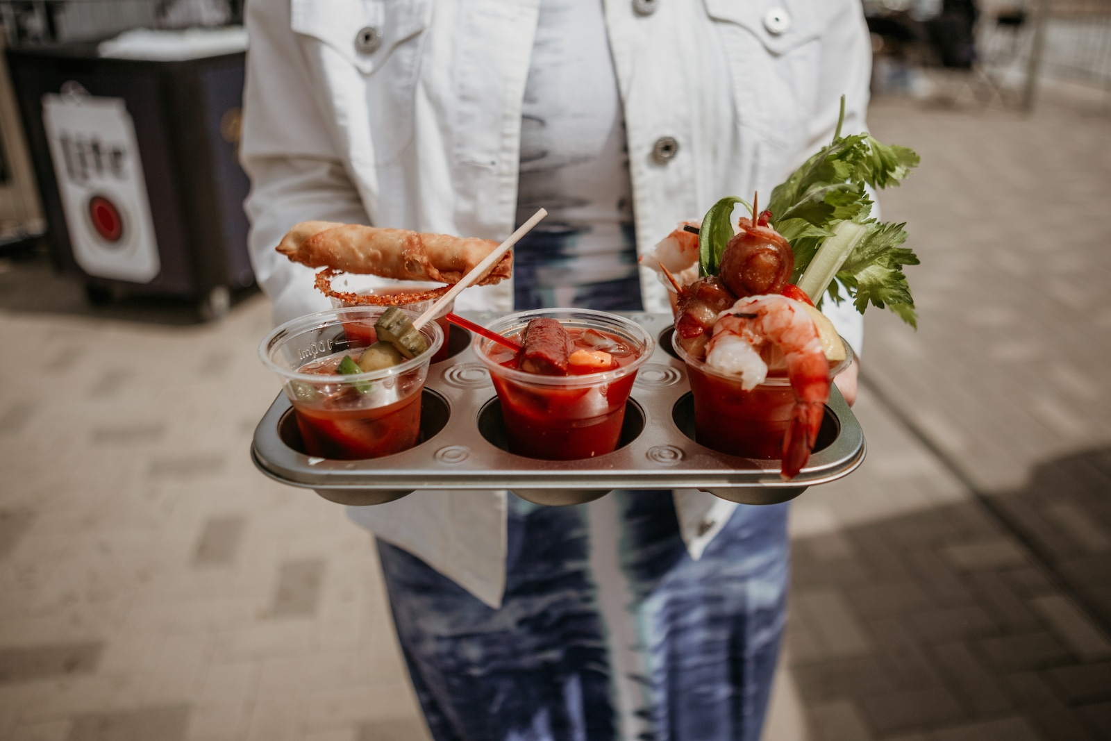 Image of an array of bloody marys