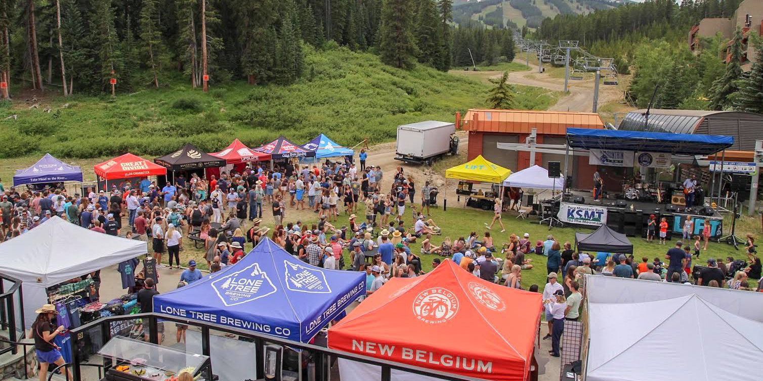 Image of the Breckenridge Beer Festival in Colorado