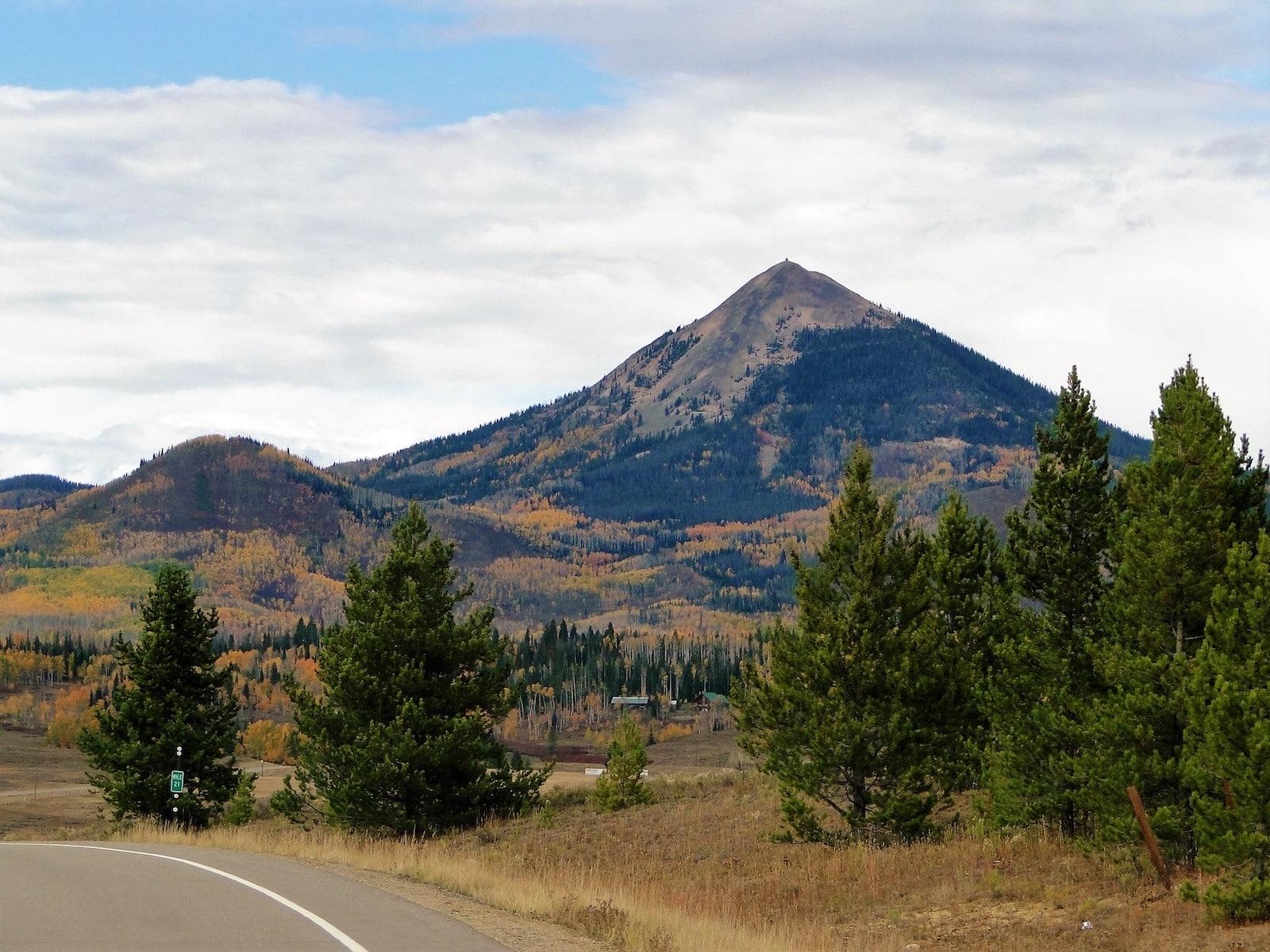 Colorado Hahns Peak Extinct Volcano