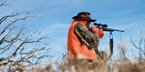 Colorado hunter sighting in rifle near Meeker, CO