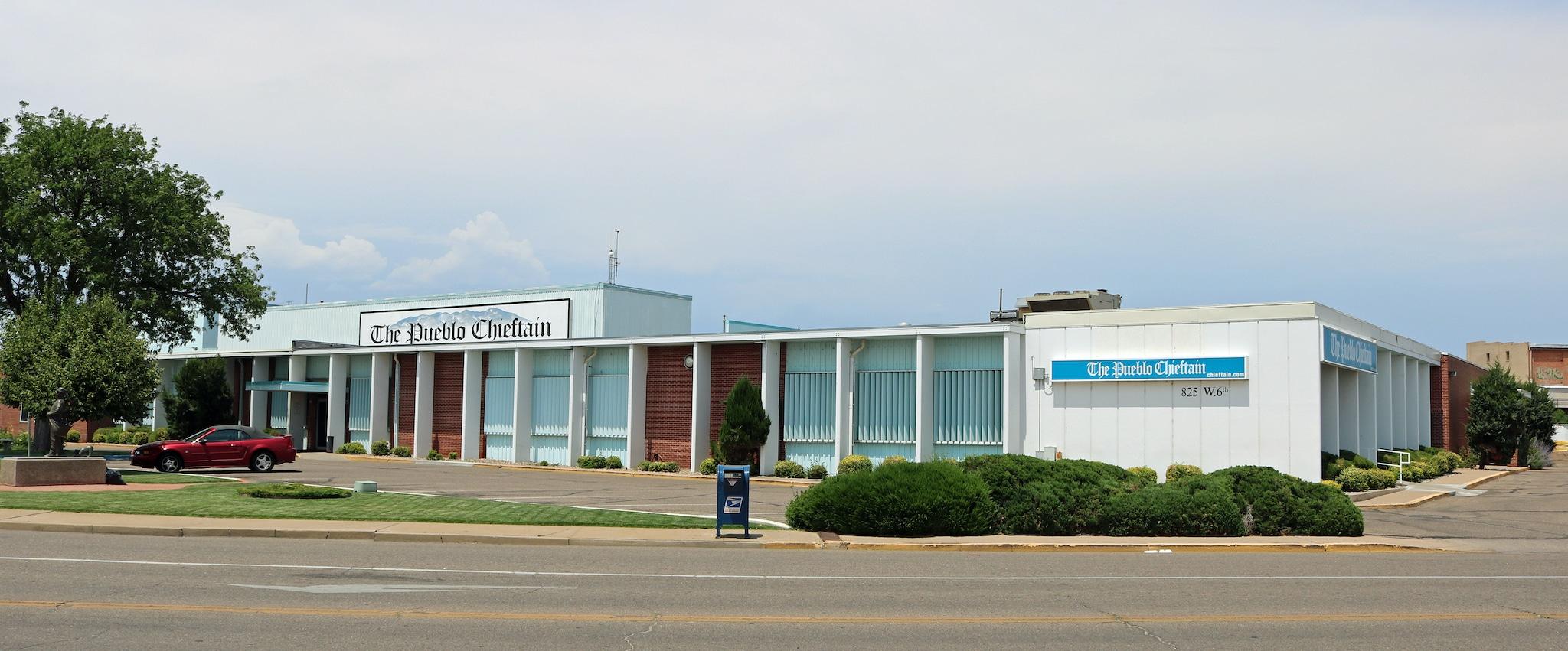 The Pueblo Chieftain Building Colorado
