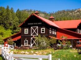 Image of the Colorado Trails Ranch barn in Durango