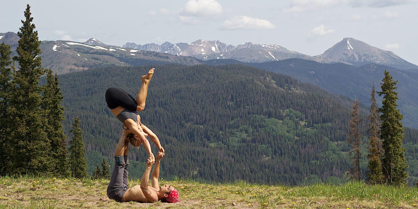 Yoga retreat in the Colorado mountains Wanderlust