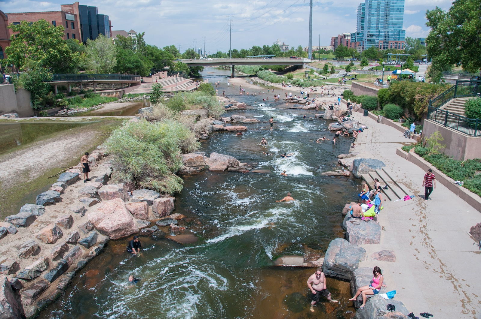 Confluence Park Denver Tubers