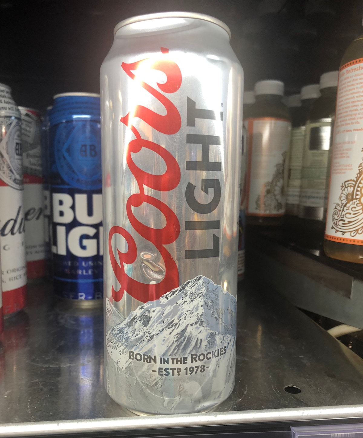 Coors Light Can 2019