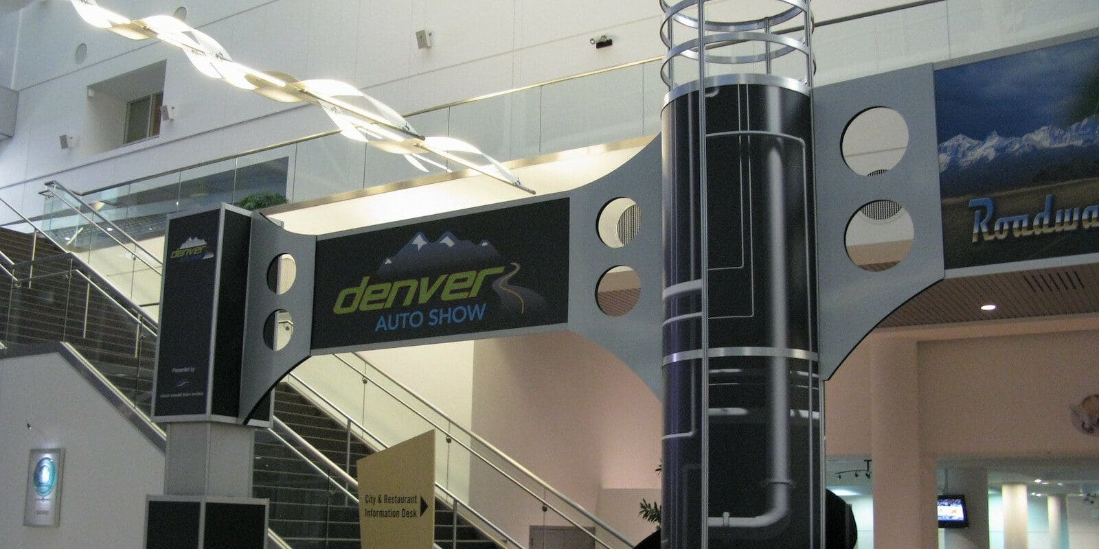 Image of the Denver Auto Show banner